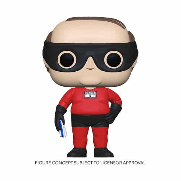 Funko Pop! The Office Kevin as Dunder Mifflin Superhero Funko Pop! Vinyl Figure