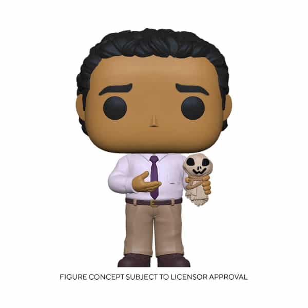 Funko Pop! The Office Oscar with Ankle Attachments Funko Pop! Vinyl Figure