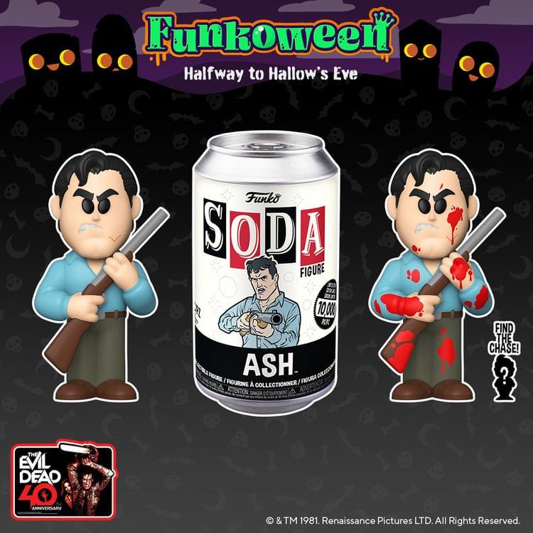 Funko Vinyl Soda - Evil Dead Ash Vinyl Soda Figure