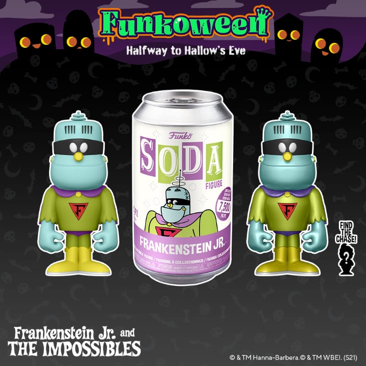 Funko Vinyl Soda - Frankenstein Jr Vinyl Soda Figure