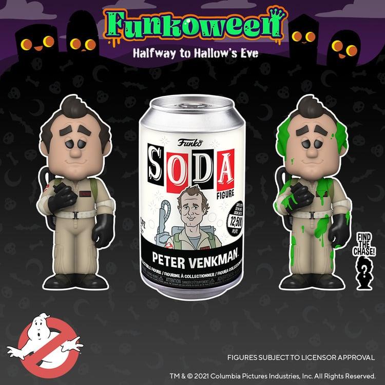 Funko Vinyl Soda - Ghostbusters Venkman Vinyl Soda Figure