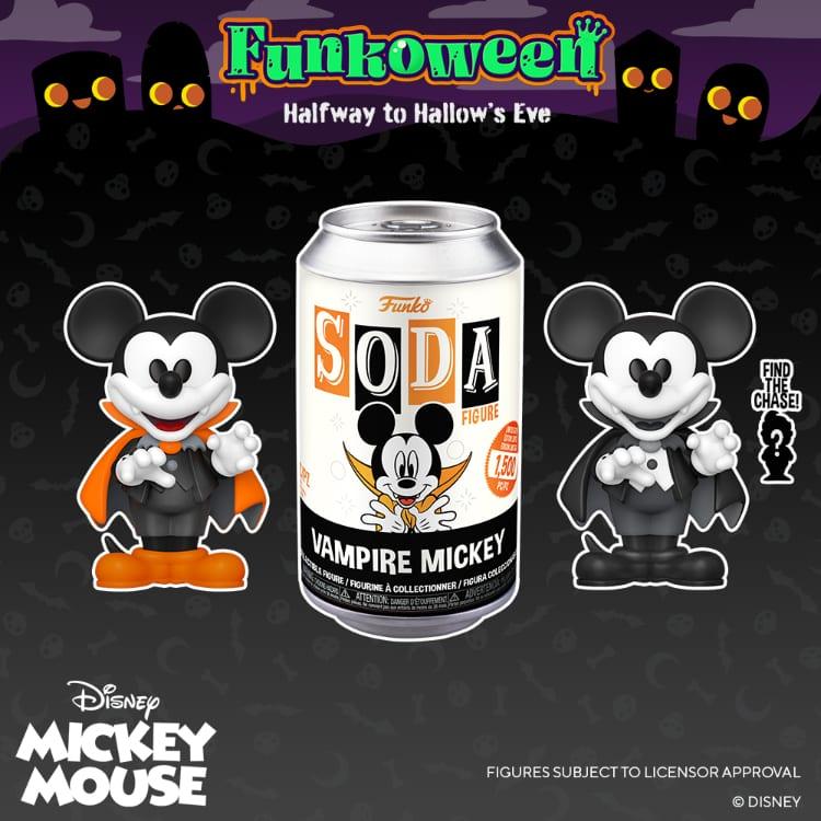 Funko Vinyl Soda - Mickey Mouse Vampire Mickey Vinyl Soda Figure