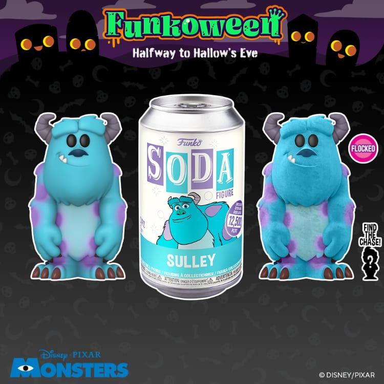 Funko Vinyl Soda - Monsters, Inc. Sulley Vinyl Soda Figure