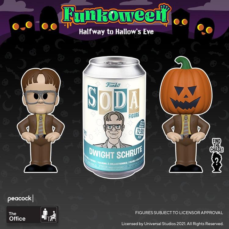 Funko Vinyl Soda - The Office Dwight Vinyl Soda Figure