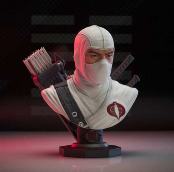Diamond Select: G.I. Joe - Storm Shadow Legends in 3-Dimensions Bust