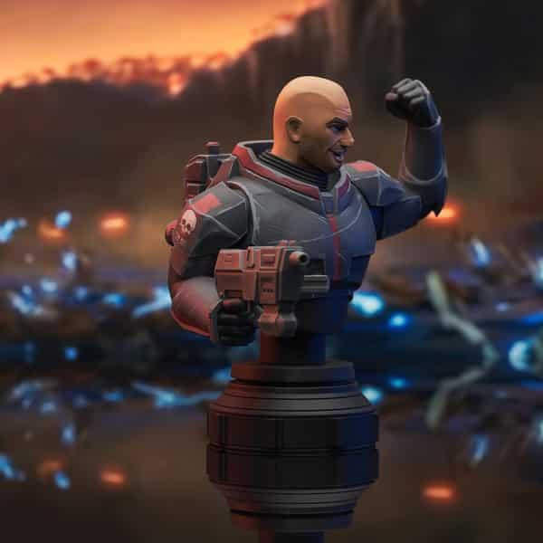 Gentle Giant: Star Wars Clone Wars Wrecker Scale Mini-Bust