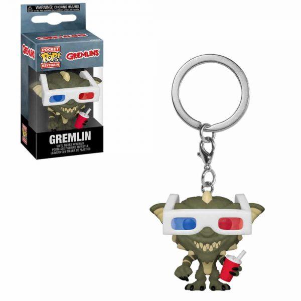 Gremlins - Stripe with 3D Glasses Pocket Pop! Key Chain
