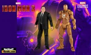 Hasbro: Marvel Legends - Happy Hogan and Iron Man Mark XXI 6-Inch Action Figures - Target Exclusive