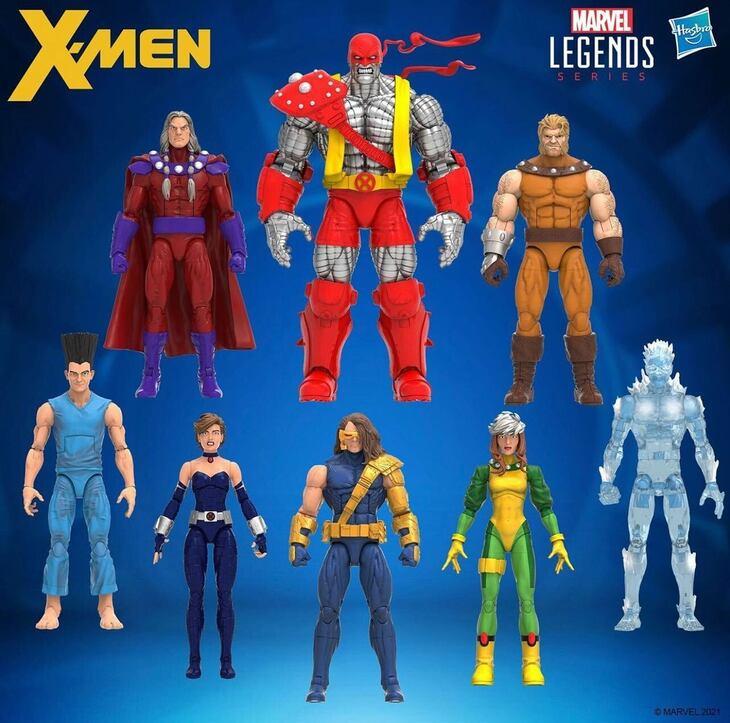 Hasbro Marvel Legends - X-Men Age of Apocalypse 6-Inch Action Figures