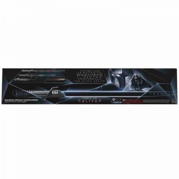 Hasbro Star Wars The Black Series Mandalorian Darksaber Force FX Elite Lightsaber