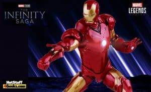 Hasbro: Marvel Studios Infinity Saga - Iron Man Marvel Legends Mark 3 Armor 6-inch Action Figure