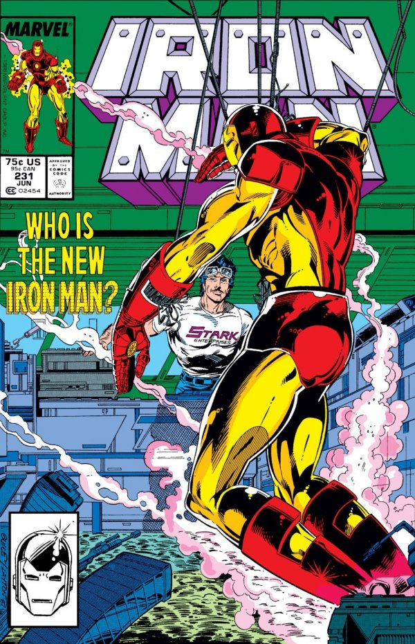 Iron Man issue number 231 - Model XIV, Mark I first appearence