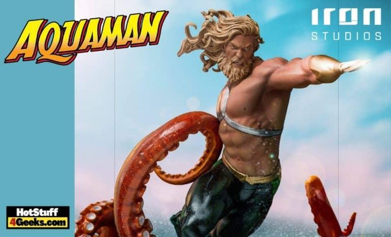 Iron Studios Aquaman Deluxe Art Scale 110Iron Studios Aquaman Deluxe Art Scale 1/10 Statue
