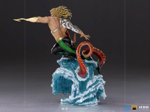 Iron Studios Aquaman Deluxe Art Scale 1/10 Statue