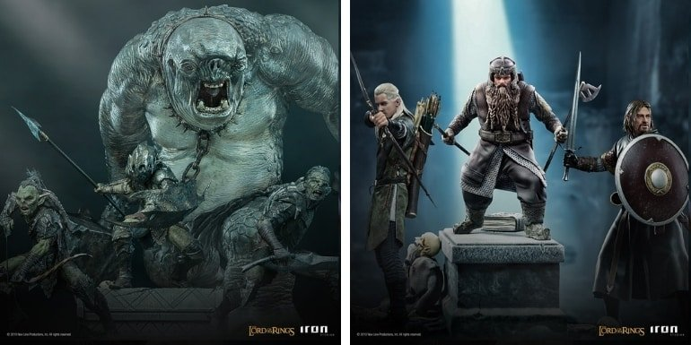 Iron Studios Lord of the Rings - 110 Art Scale Statues Collection