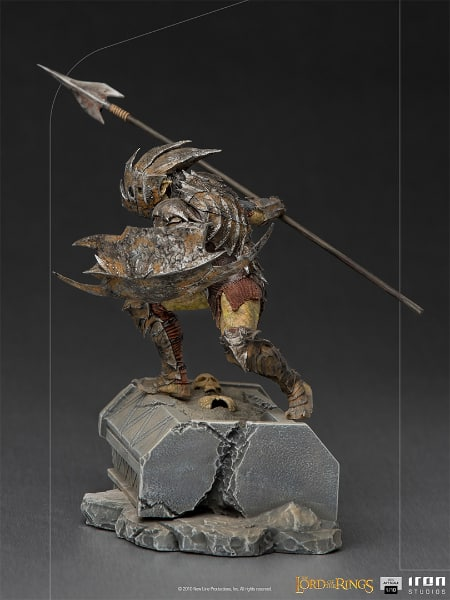 Iron Studios Lord of the Rings - Armored Orc BDS Art Scale 110 Statue