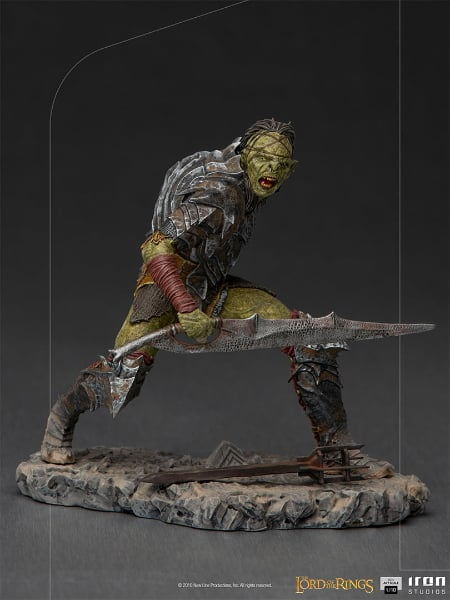 Iron Studios Lord of the Rings - Swordsman Orc BDS Art Scale 110 Statue