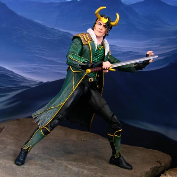 Loki Special Collector Edition Action Figure Set – Marvel Select by Diamond Select Toys - Disney Shop Exclusive