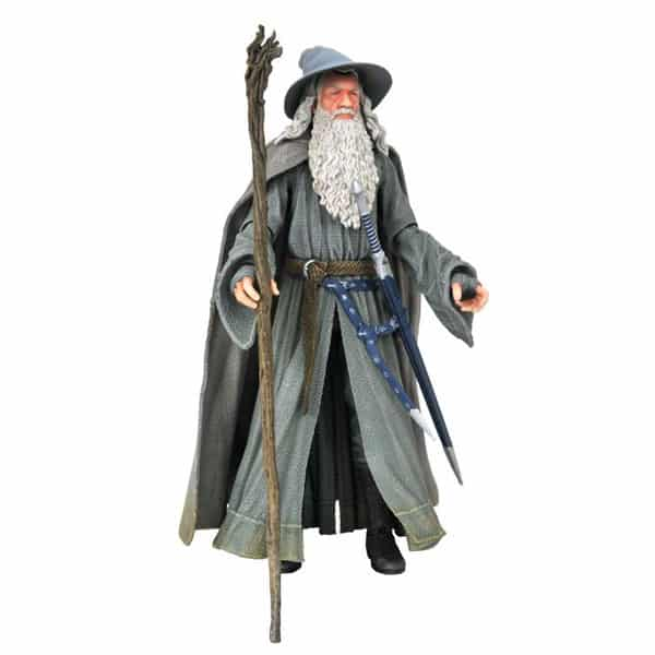 Lord of the Rings Deluxe Series 4 Gandalf Action Figure