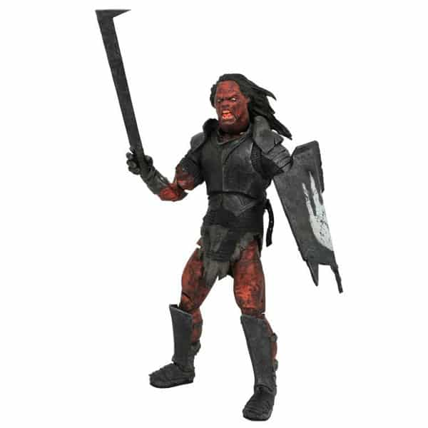 Lord of the Rings Deluxe Series 4 Uruk-Hai Orc Action Figure