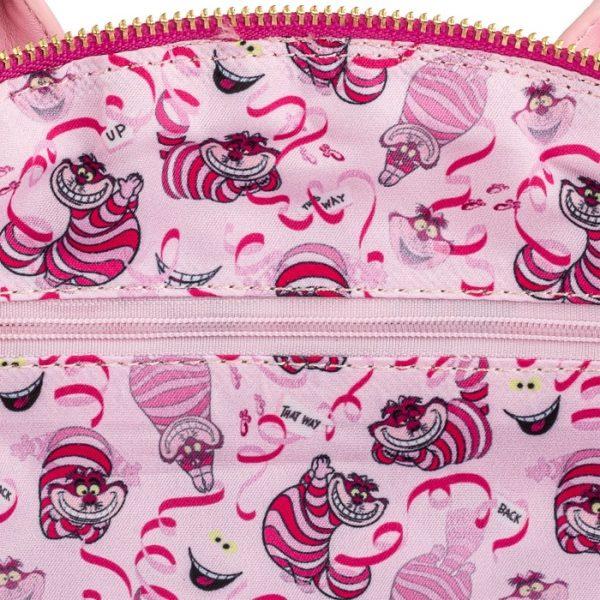 Loungefly Disney Alice in Wonderland Cheshire Cat Applique Crossbody