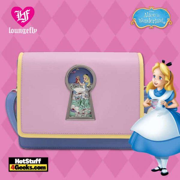 Loungefly Disney Alice in Wonderland Key Hole Crossbody