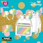 Loungefly Disney Sequin Rainbow Minnie Collection