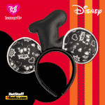 Loungefly Disney Steamboat Willie Applique Hat Rope Piping Ears Headband