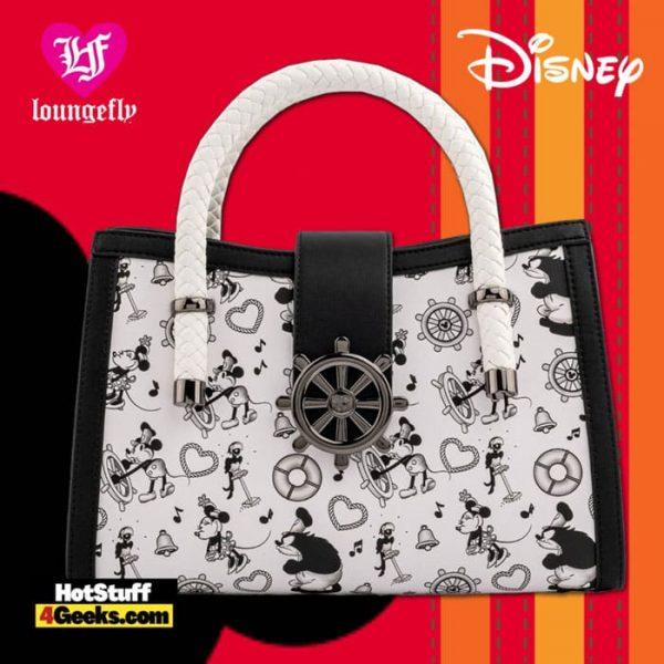 Loungefly Disney Steamboat Willie Music Cruise Crossbody