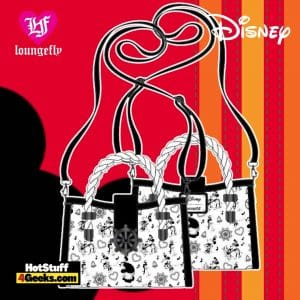 Loungefly Disney Steamboat Willie Music Cruise Crossbody