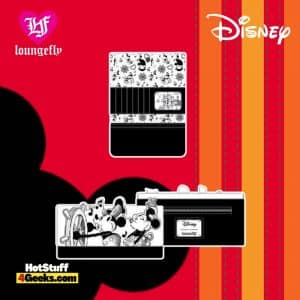 Loungefly Disney Steamboat Willie Music Cruise Flap Wallet