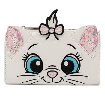 Loungefly Disney The Aristocats Marie Floral Face Flap Wallet