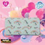 Loungefly Hasbro My Little Pony Starshine Rainbow AOP Zip Around Wallet