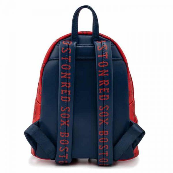 Loungefly MLB Boston Red Sox Logo Mini Backpack