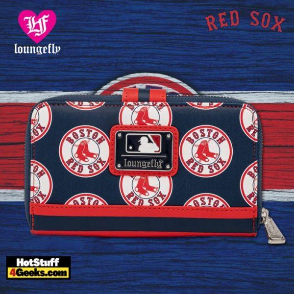 Loungefly MLB Boston Red Sox Logo Wallet