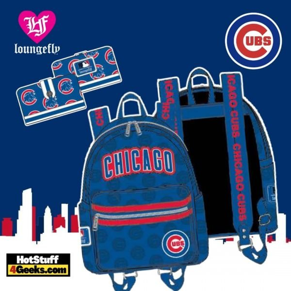 Loungefly MLB Chicago Cubs Logo Collection