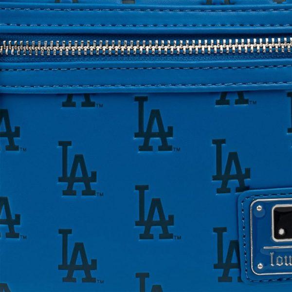 Loungefly MLB LA Dodgers Baseball Seam Stitch Mini Backpack