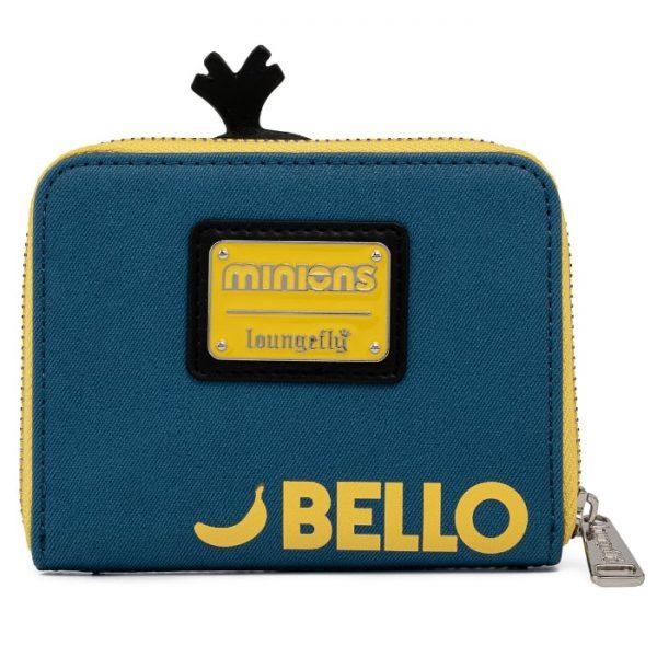 Loungefly Minions Triple Minion Bello Zip Around Wallet