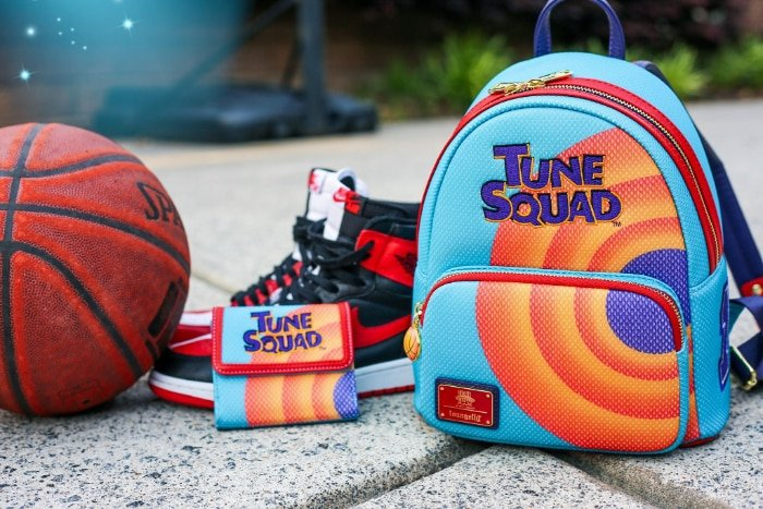 Loungefly Space Jam Tune Squad Bugs Mini Backpack and Wallet