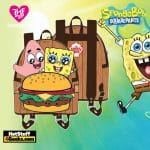 Loungefly Spongebob Krabby Patty Group Mini Backpack