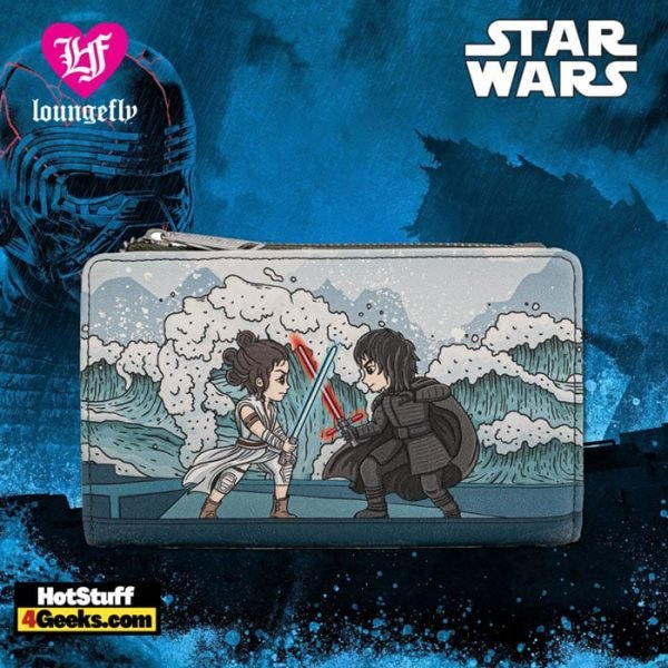 Loungefly Star Wars Kylo Ren Mixed Emotions Flap Wallet