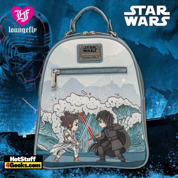 Loungefly Star Wars Kylo Ren Mixed Emotions Mini Backpack