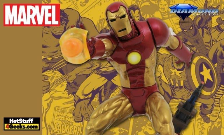 Diamond Select: Marvel Gallery Comic Iron Man Statue