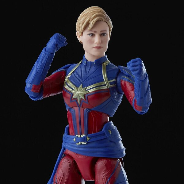 Hasbro: Marvel Legends - Infinity Saga (Avengers: Endgame) - Captain Marvel and Rescue Armor 6-inch Action Figure 2-Pack - Amazon Exclusive
