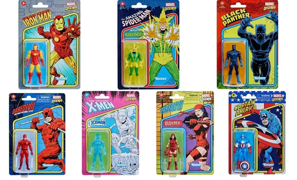Hasbro: Marvel Legends Retro 375 Collection Action Figures - Wave 2