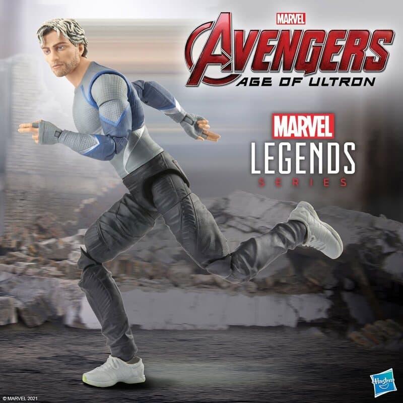 Hasbro: Marvel Legends Series: Avengers Infinity Saga - Quicksilver 6-inch Action Figure