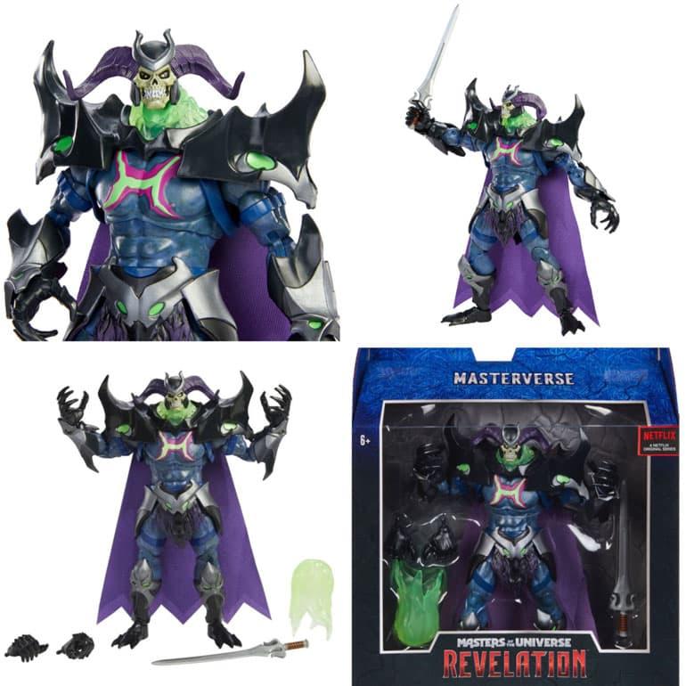 Mattel: Masters of the Universe: Revelation - Masterverse Skelegod 9-inch Action Figure