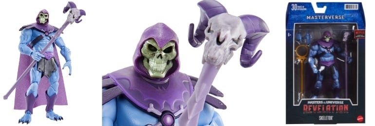 Mattel: Masters of the Universe: Revelation - Masterverse Skeletor 7-inch Action Figure