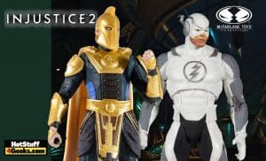 McFarlane Toys: DC Multiverse - Injustice 2: Dr. Fate & Flash Hot Pursuit 7-Inch Action Figures