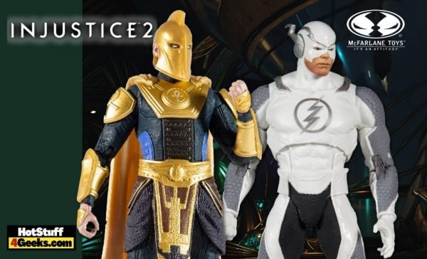 McFarlane Toys: DC Multiverse - Injustice 2: Dr. Fate & Flash Hot Pursuit 7-Inch Action Figures